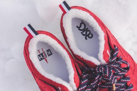 【国内12月8日発売予定】 モンクレール × キス × アシックス タイガー ゲルライト3 全3色