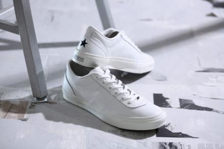 【国内2月16日発売予定】 コンバース ワン スター J ヴィンテージ HS ホワイト/ブラック