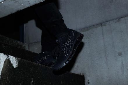 【国内3月23日発売予定】アトモス × アシックス ゲル-インスト.360 ブラック/シルバー(T8G0K-9093)