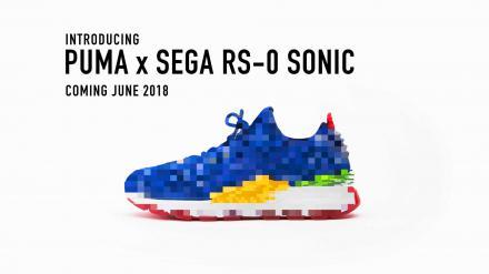 【海外6月5日発売予定】 セガ × プーマ RS-0 ソニック & ドクターエッグマン