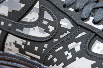 【12月22日発売予定】 ナイキ ルナフォース1 デジ NRG ブラック/リフレクト シルバー-ダークグレー(577659-001)