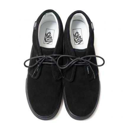 【国内5月4日発売予定】 N.ハリウッド × バンズ チャッカ ブーツ ブラック